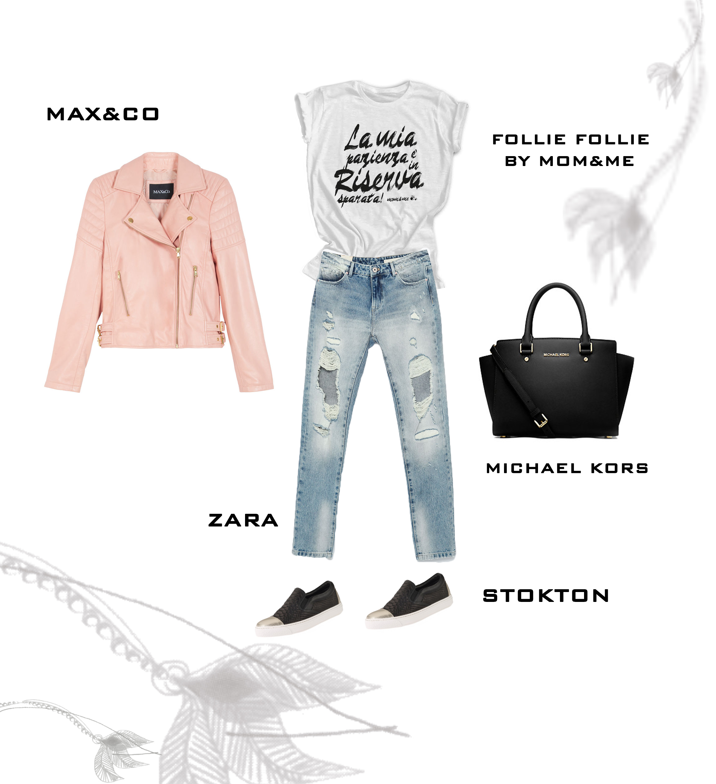spring outfit woman