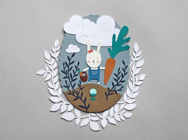 illustration paper cut
