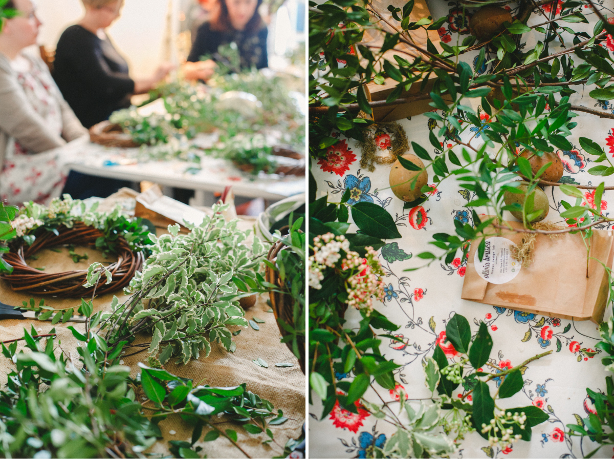 Workshop Ghirlande e Coroncine Floreali