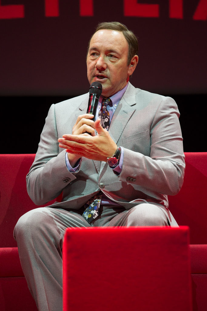 Netflix Event, Paris 11.04.2016 House of Cards Panel Kevin Spacey