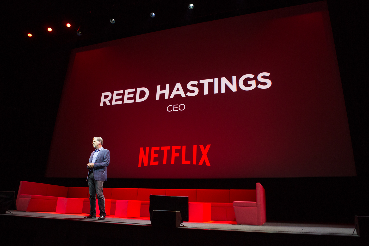 Netflix Event, Paris 11.04.2016 Reed Hastings Intro Reed Hastings
