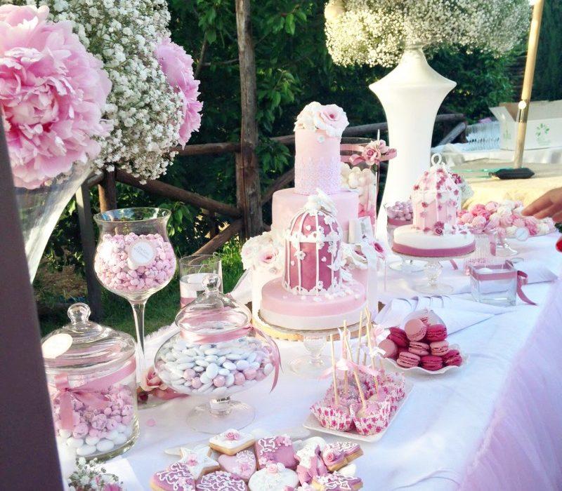 Confettata Matrimonio Rustico : Confettata lo sweet table the womoms
