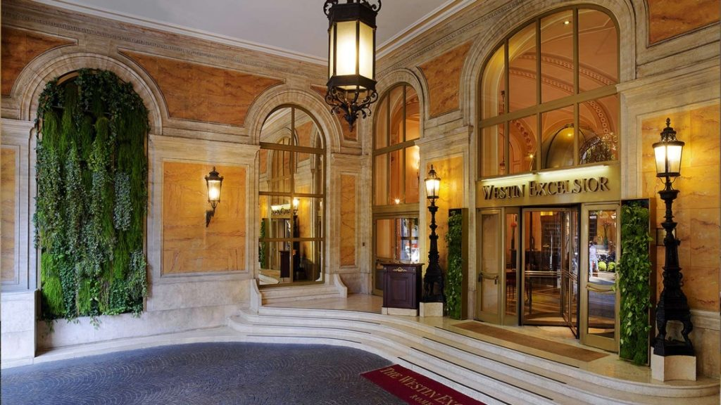 entrance_the_westin_excelsior_rome