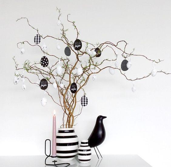 albero di pasqua shabby