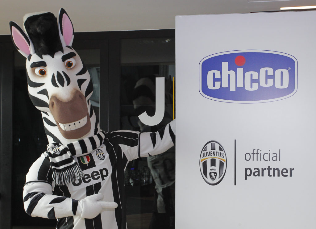 "Foto LaPresse/Spada 15 ottobre 2016 Torino (Italia) Sport Calcio Juventus vs Udinese - Campionato italiano di calcio Serie A TIM 2016/2017Ê- ""Juventus Stadium "" Nella foto: commerciali Chicco Photo LaPresse/Spada October 15 , 2016 Turin (Italy) Sport Soccer Juventus vs Udinese - Italian Football Championship League A TIM 2016/2017 - "" Juventus Stadium "" In the pic:"