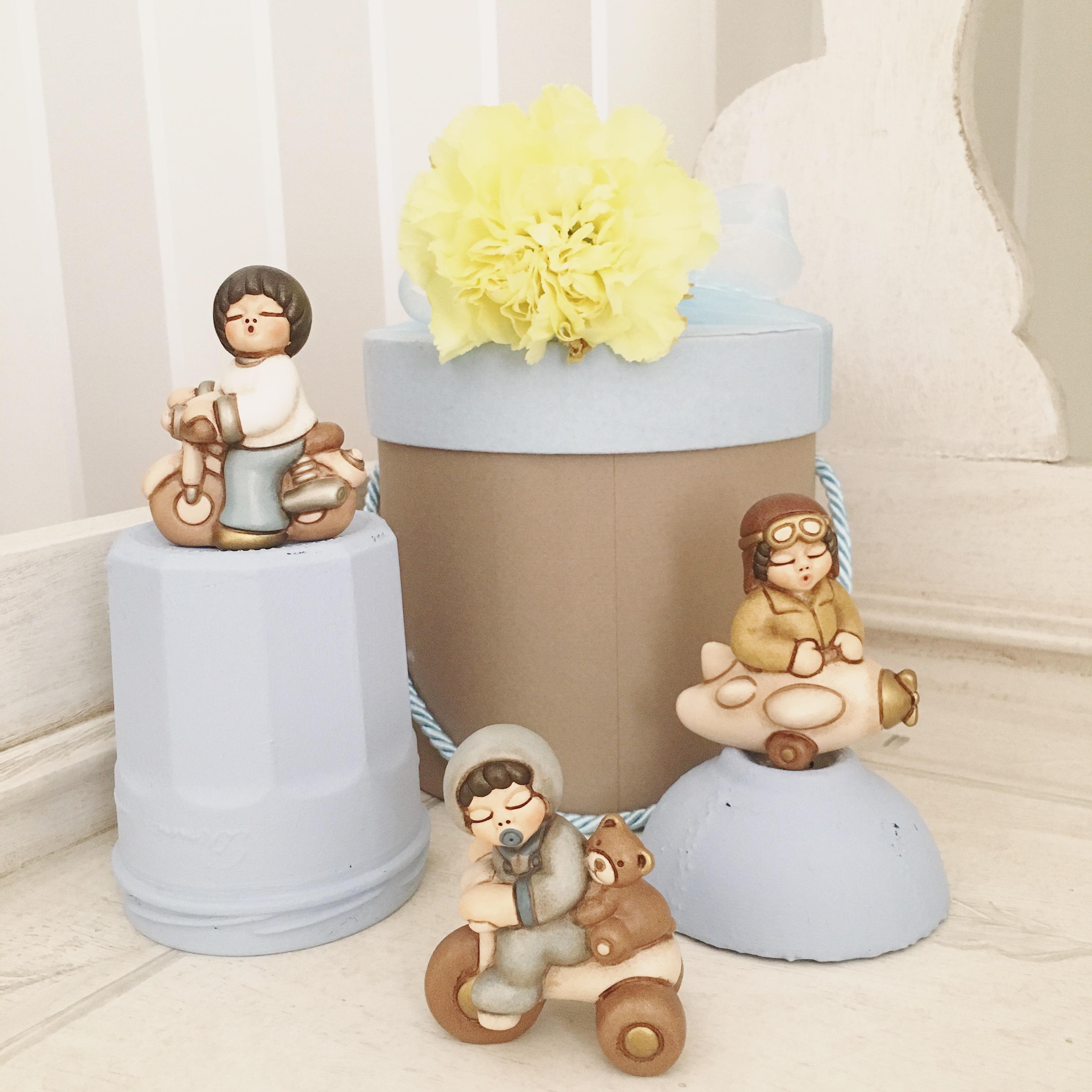 Tempo di cerimonie idee per la bomboniera battesimo con - Idee regalo thun ...